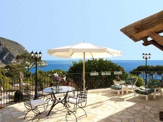 Eze villa photo - Terrace.