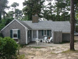Rear view of cottage - Dennisport cottage vacation rental photo