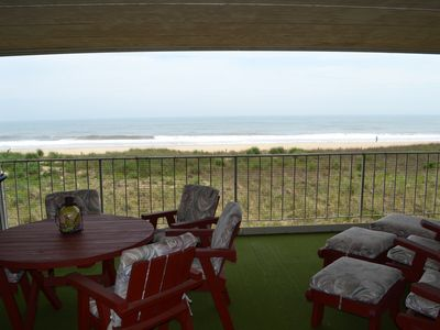 The biggest balcony in ocean city! Another whole living space! (Apt. 102)