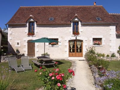 Rustic Gites in typical French countryside with heated, covered swimming pool  - The Grange