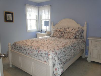 Wake up to view of the bay in this beautiful Queen bedroom on the second floor