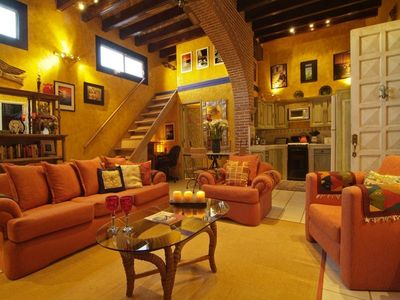 The fabulous Living Area is spacious and stylish. Comfortable and very lovely.