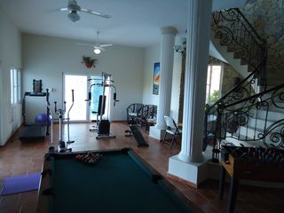 Playa Cofresi villa photo - gymnasium/games room