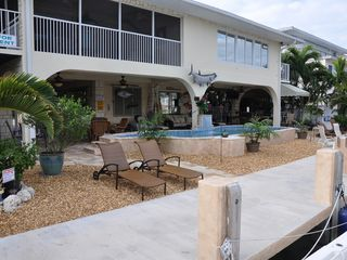 Duck Key house photo - Relax by the Dock
