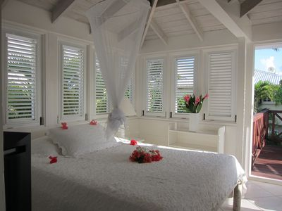 Silver Sands Barbados apartment rental - Bedroom in the Seaside Cottage