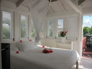 Bedroom in the Seaside Cottage