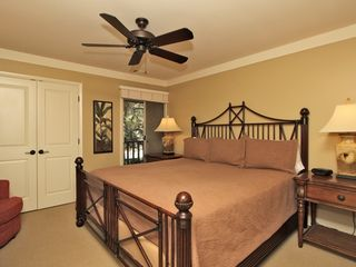 Forest Beach condo photo - Master Bedroom with Ceiling Fan