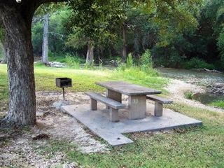 San Antonio house photo - Picnic by the Medina river in the City Park - less than 5 minutes from house.