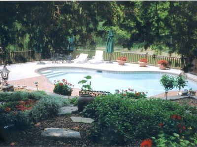 Private in-ground pool