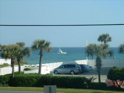 View of the beautiful emerald waters of Gulf of Mexico from your balcony