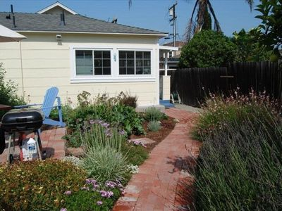 Del Mar cottage rental - Cottage entry