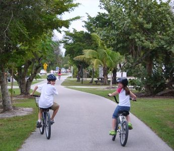Bike Paths throughout the Island