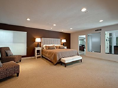 Executive size Master Bedroom..