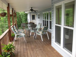 Hot Springs Village house photo - The top deck to relax and enjoy yourselves.