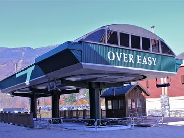 Footsteps away from the newest chairlift addition to the Mountain: Over Easy