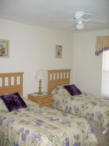 Fourth twin bedroom