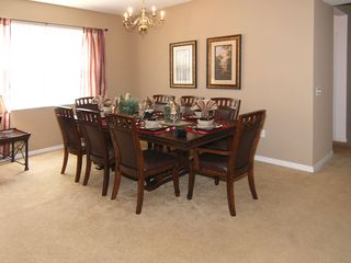 Windwood Bay villa photo - Plenty of room around our new dining table!