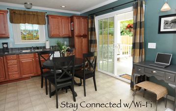 Fully furnished kitchen and Wi-Fi