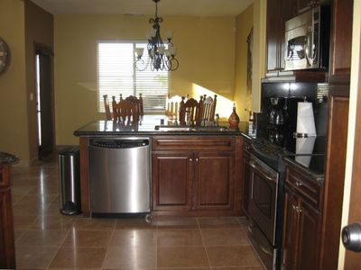 Gourmet Kitchen, Stainless Appliances & all amenties needed