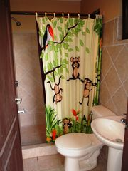 Playa Hermosa house photo - Monkey theme yard / pool bath