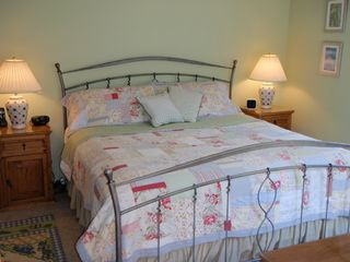 Biddeford house photo - Master: King memory-foam mattress; private bath; HDTV, balcony, walk-in closet