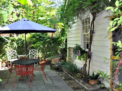 your private courtyard garden