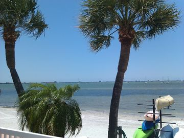 Overlooking Boca Ciega Bay from Beach Pool Balcany