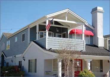 Balboa Island house rental - Upstairs duplex