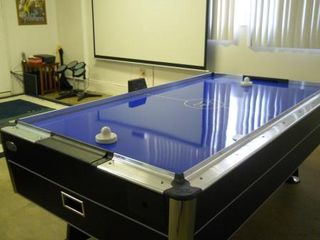 Anaheim house photo - Brand new 7.5-ft arcade style air hockey table and 8-ft screen.