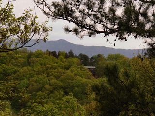 Gatlinburg cabin photo - View from Upper deck