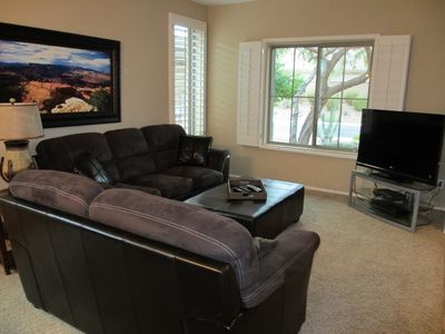Living room with T.V.