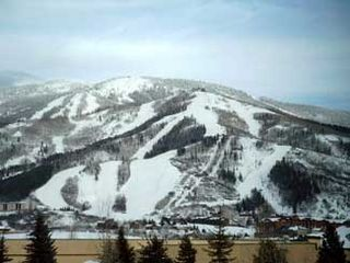 Steamboat Springs condo photo - View From Deck