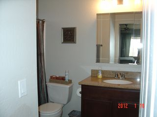 Scottsdale condo photo - Master bath with tub/shower.