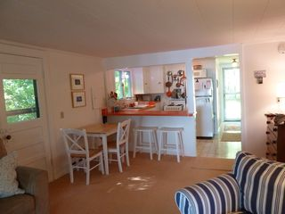Damariscotta cottage photo - Open living area