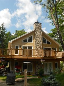 Quebec City chalet rental - Summer Time view of the front