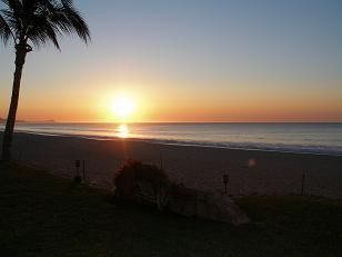 San Jose del Cabo condo rental - Sunrise fron the deck area of our condo! Spectacular!