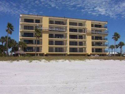 Madeira Beach condo rental - Sitting on a beautiful beach,your beach home is a direct beachview corner condo!