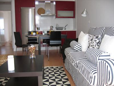 Apartment in Corrubedo with sea views. 40 mts to the beach.