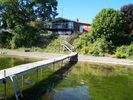 Looking back at the house from dock. - Dresden house vacation rental photo