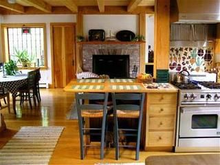 Gayhead - Aquinnah house photo - Country kitchen opens to dining room