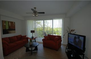 Tampa townhome photo - Living room 1 queen sofa bed, LCD-TV,Dvd,Cd, W-LAN and balcony w. waterview