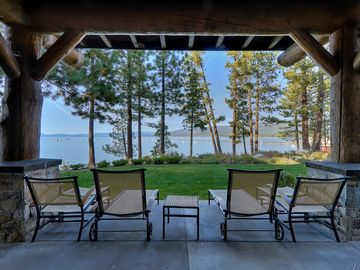 Sierra Shores townhome rental - The amazing lakefront location offers unparalleled views from your private patio.