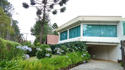Gorgeous home with 5 bedrooms in Alto Capivari, for up to 12 people