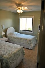 Second Bedroom, Large Closet and TV with Cable - Crescent Beach condo vacation rental photo
