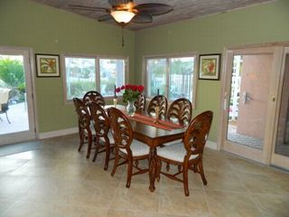 Key Colony Beach house photo - Indoor dining - seats 8