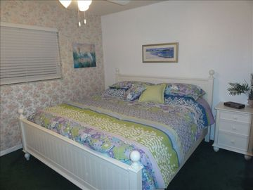 Guest Bedroom with King Sized Bed