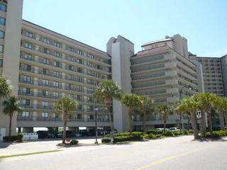 Front of building from Ocean Blvd - Windy Hill condo vacation rental photo