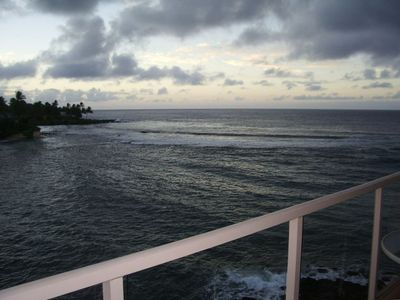 Enjoy the sights and sounds of the pounding waves from your private lanai