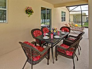 Crystal Cove villa photo - Patio table and 5 chairs with loungers