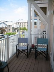 Vacation Homes in Ocean City townhome photo - 2nd Floor Balcony